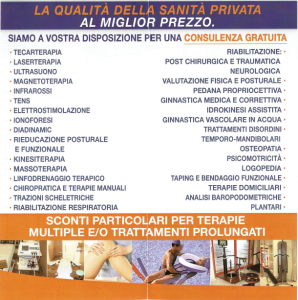 brochure fisiocenter